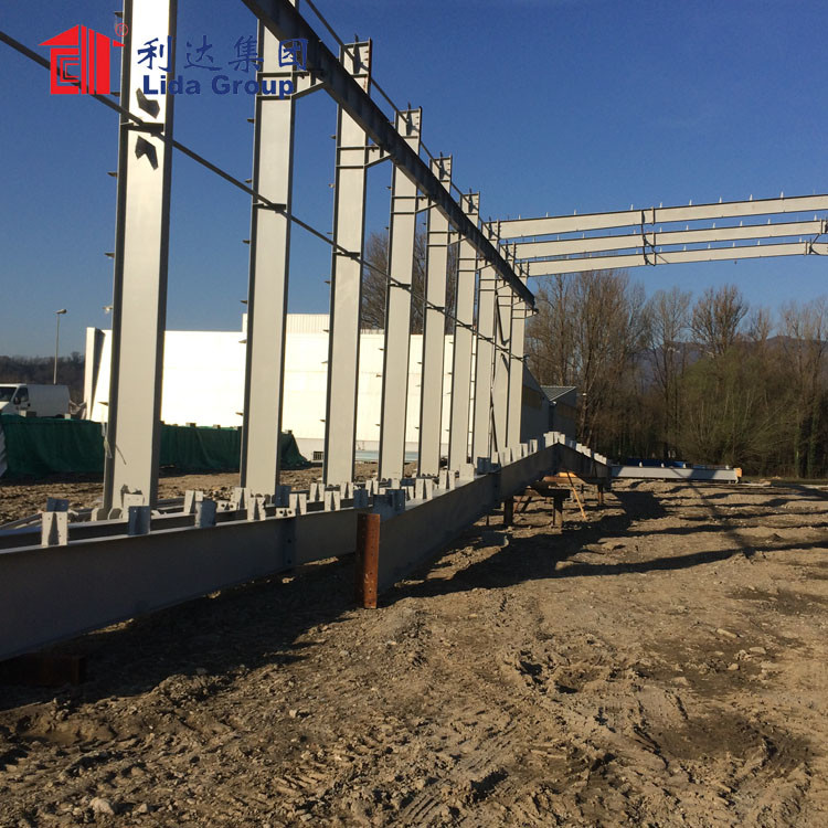 Prefab Structure Steel Beef Processing Plant