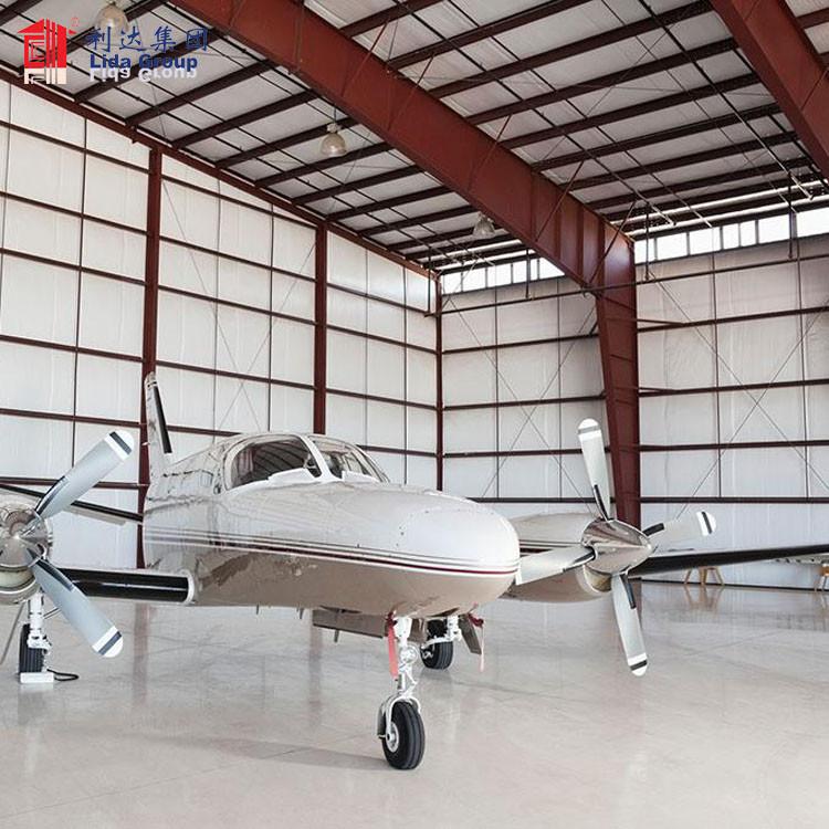 Portable aircraft hangar prefabrique pour usine for Guinea, steel hangar drawing