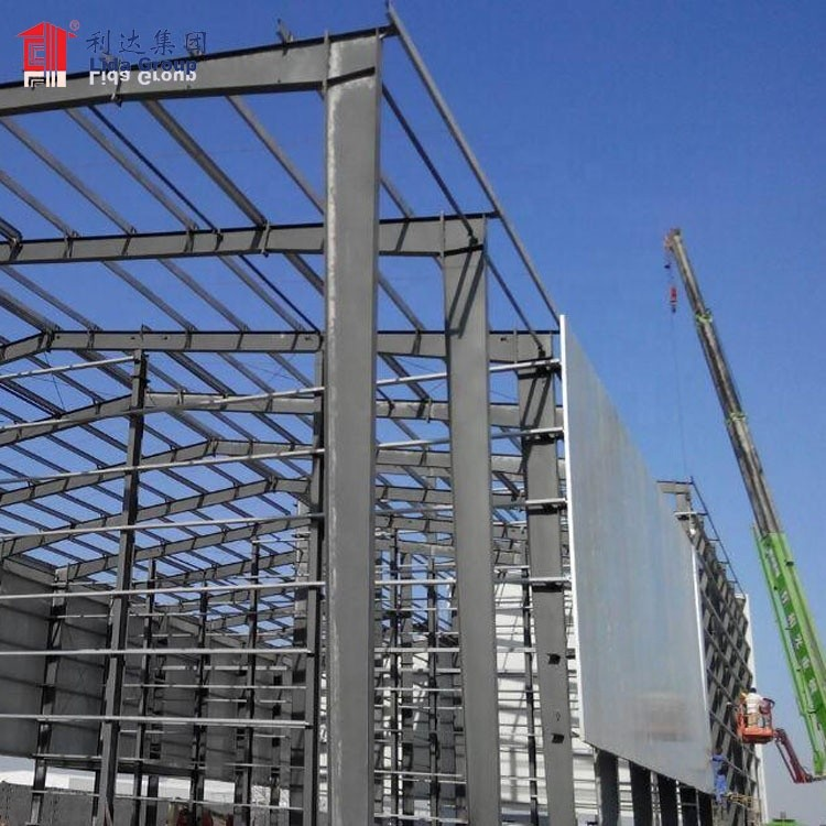 Factory Wholesale Customized Industrial Building Steel Structure