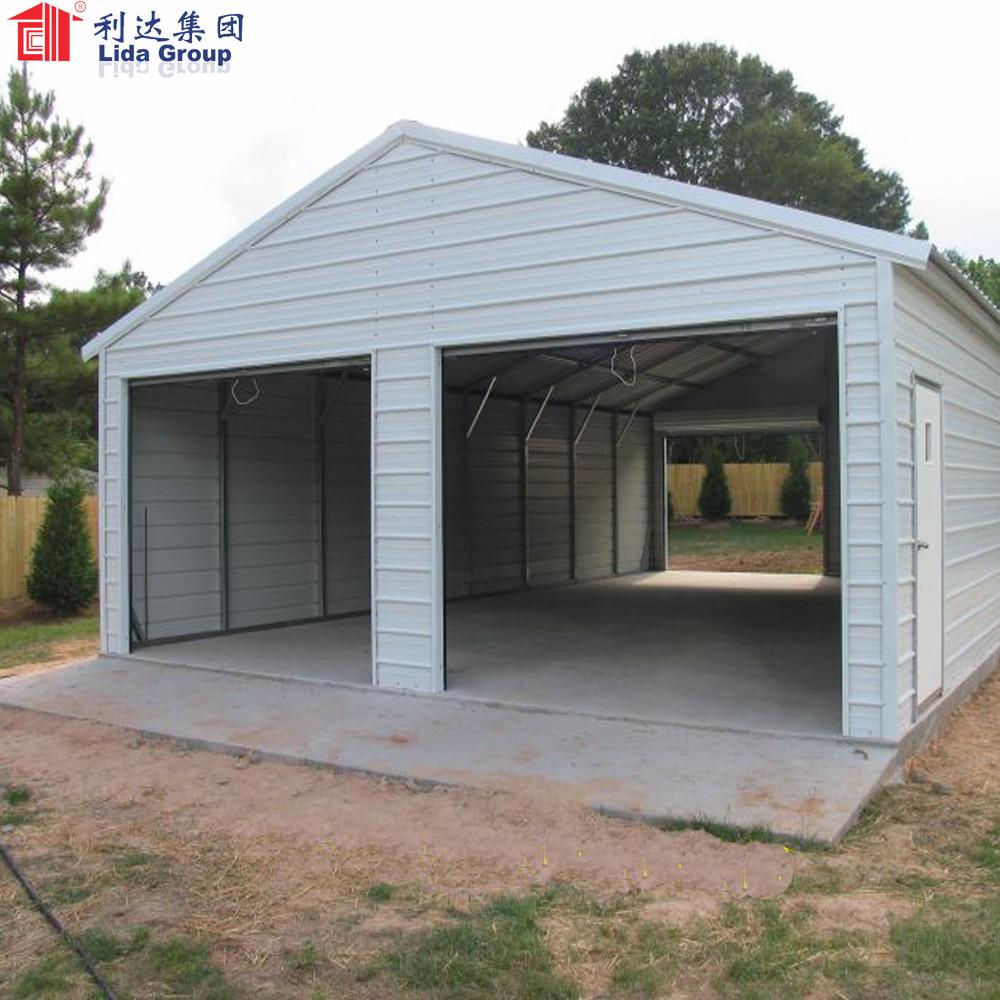 Steel structure car garage design