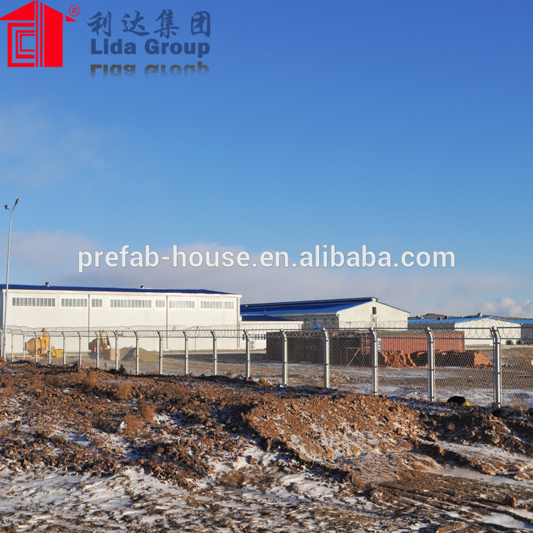Low Cost Durable Light Gauge Steel Warehouse With Design