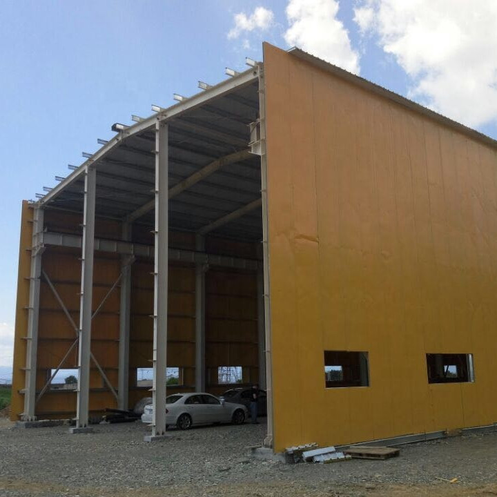 Prefab Steel Structure Leather Manufacturing workshop