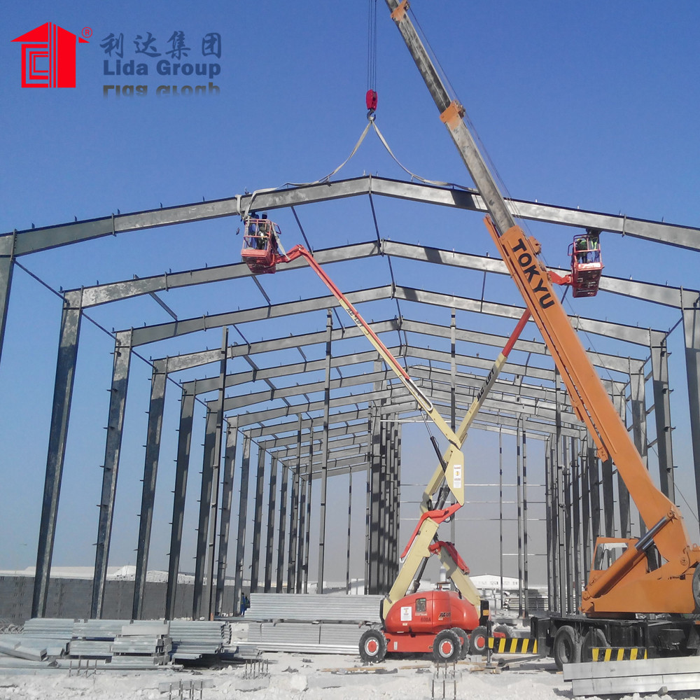 Prefab low price steel structure frame workshop warehouse