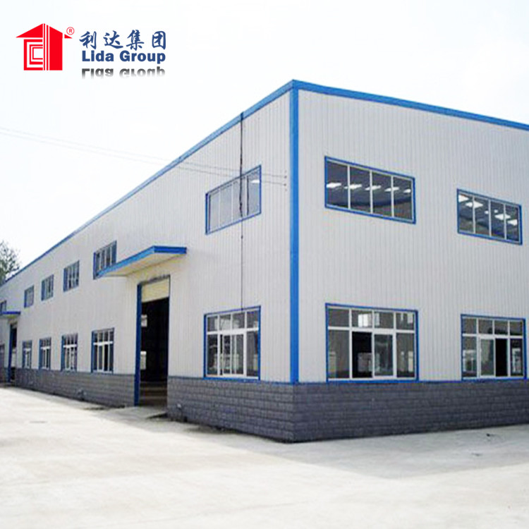 Steel warehouse Prefab Houses steel structure building