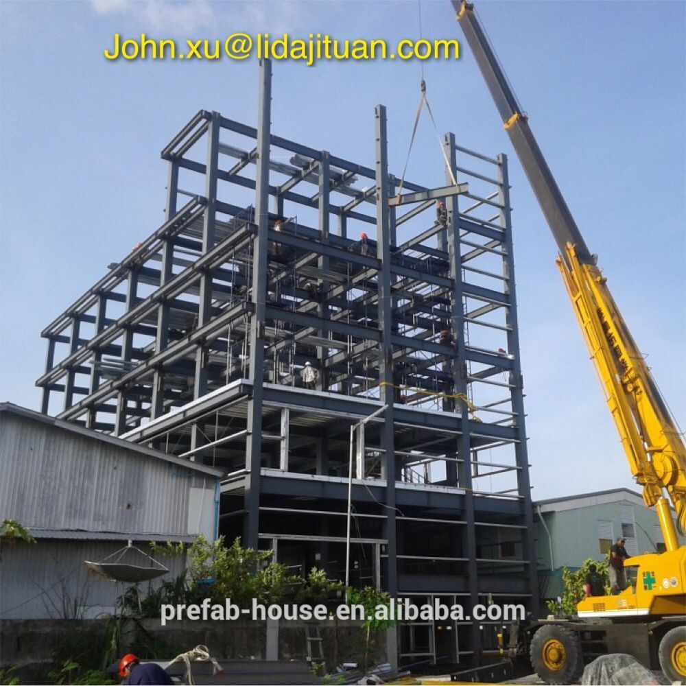Pre engineering plant steel structure building