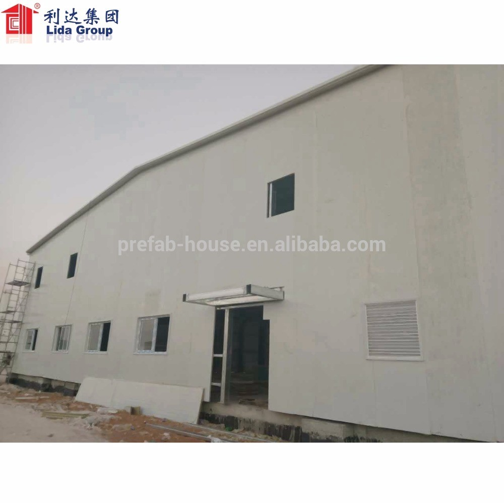 Sri Lanka Steel Structure For Prefabricated warehouse Workshop Building