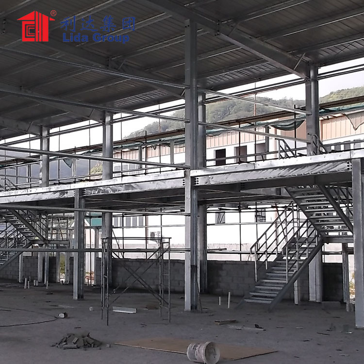 Metal Buildings Prefabricated Steel Structure Metro Stations