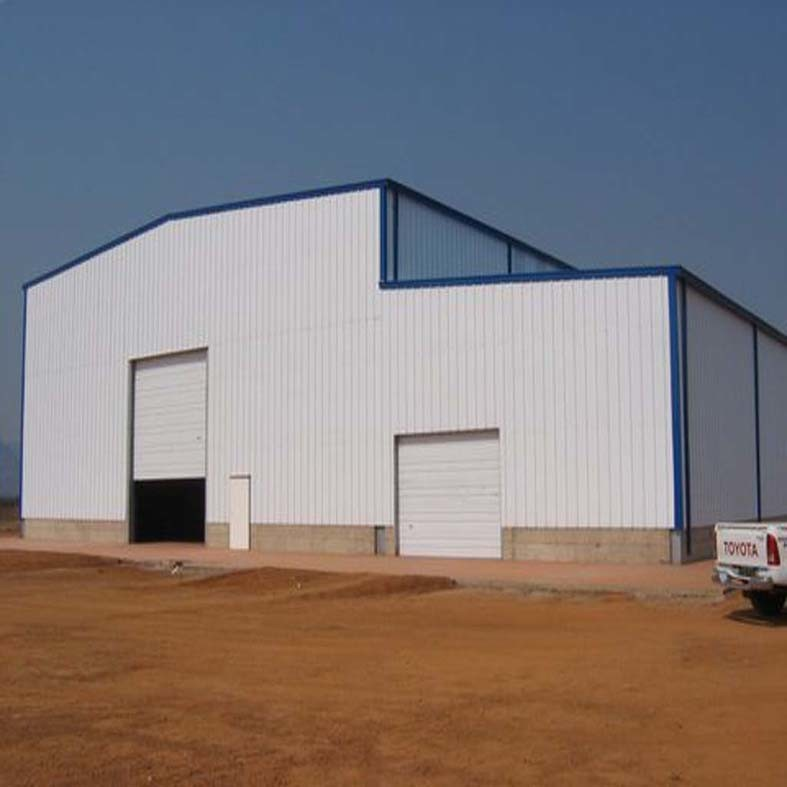 two story steel structure workshop