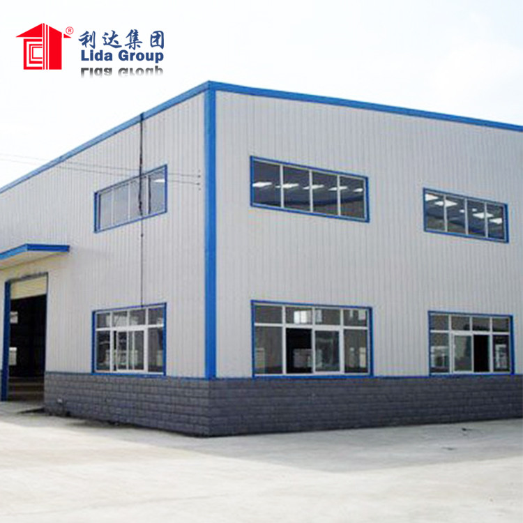 steel structure prefabricated hall prefab houses