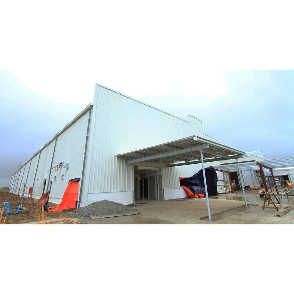 Nigeria steel structure building for workshop warehouse factory