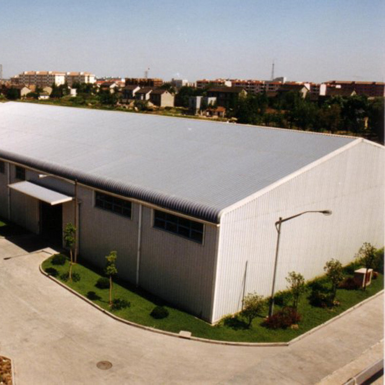 Construction structural steel warehouse building