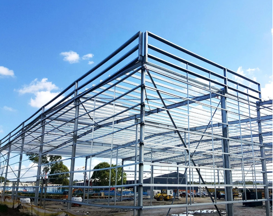 Customized Industrial Steel Structure Series Building Workshop Warehouse