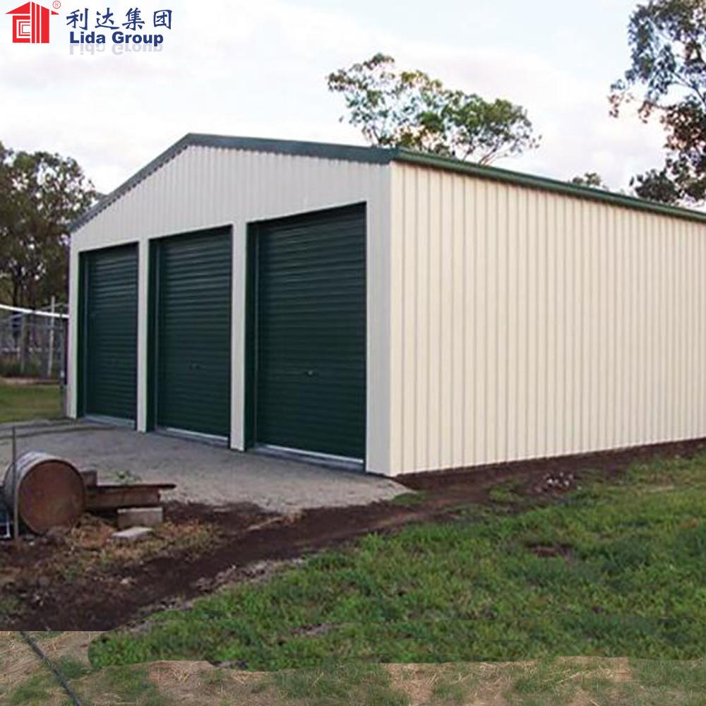 Quick building portable car garage
