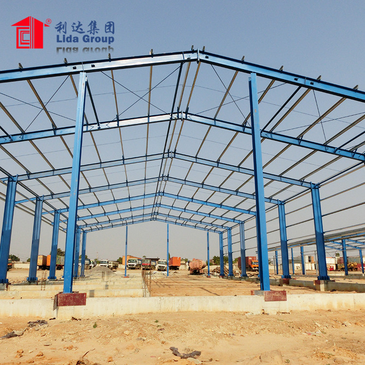 Gable Frame factory price prefabricated steel structure warehouse