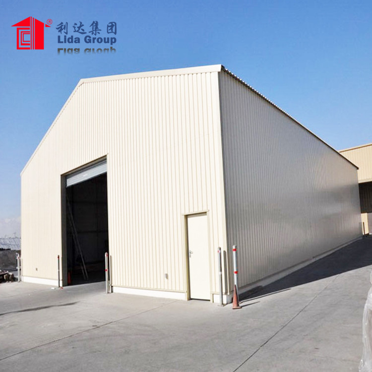 Light Steel Structure Huahai Space Frame Shed For Power Plant Cement Plant