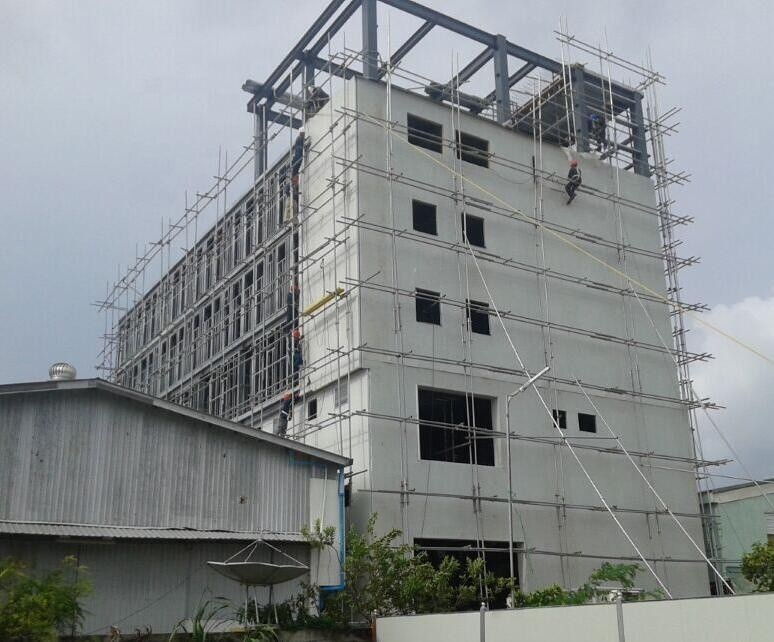 permanent steel structure hotel