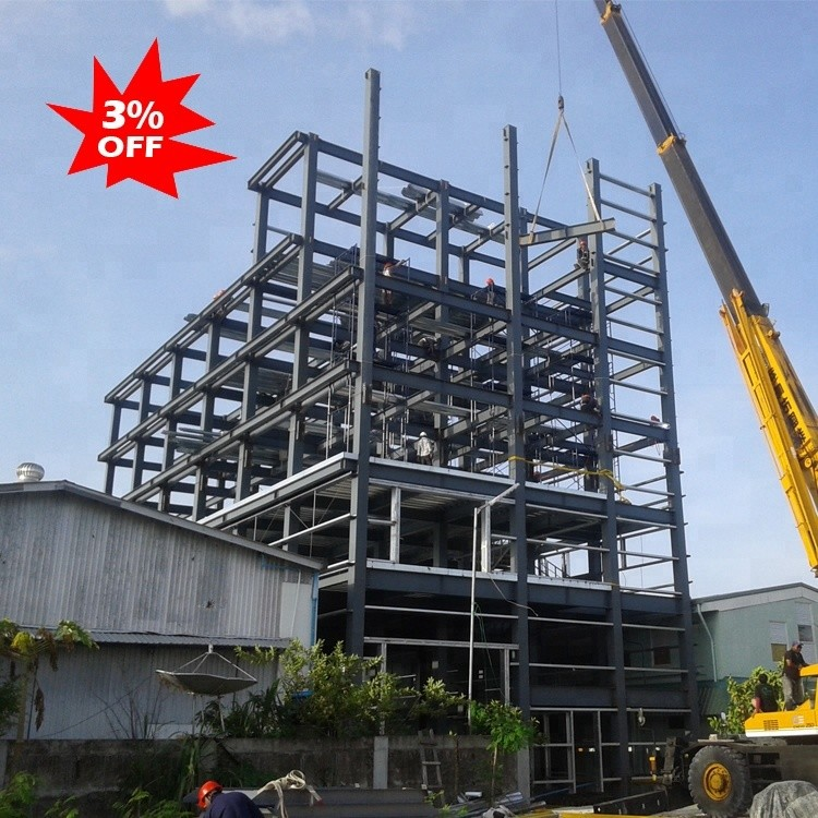 Steel structure low cost easy assmble building