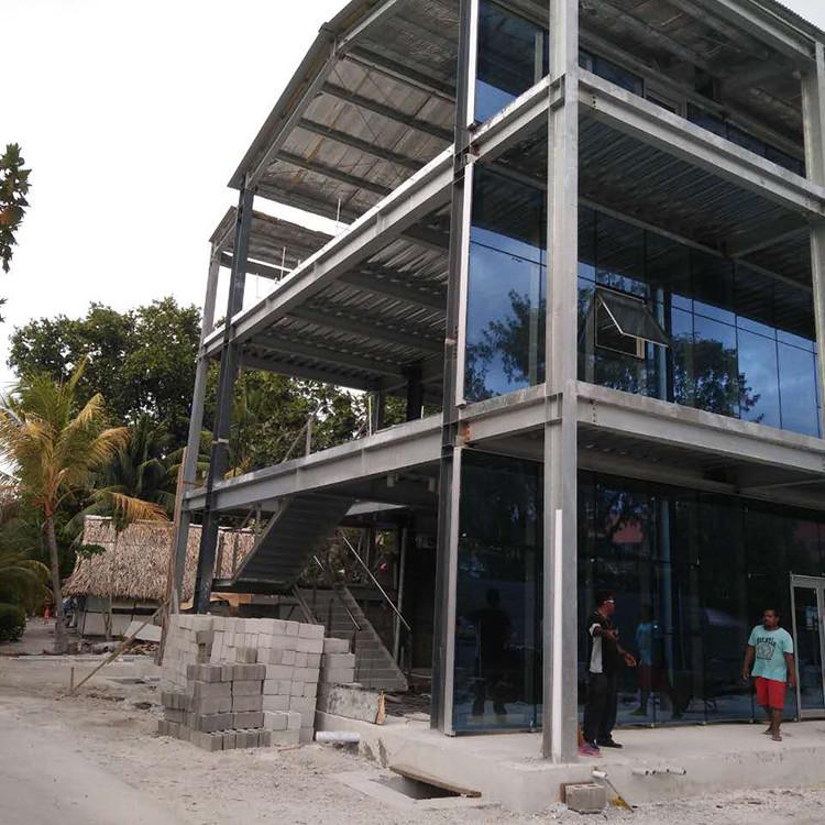 Pre-engineered steel structure frame workshop for sale