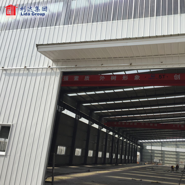 Prefabricated steel structure of house, discuss steal structure installition process impo