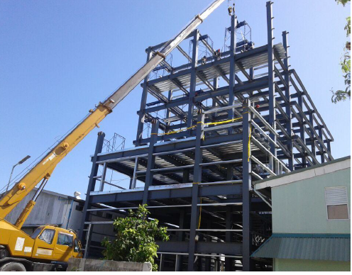 Multi Floor Low Cost Prefab Metal Steel Structure Construction Buildings Workshop
