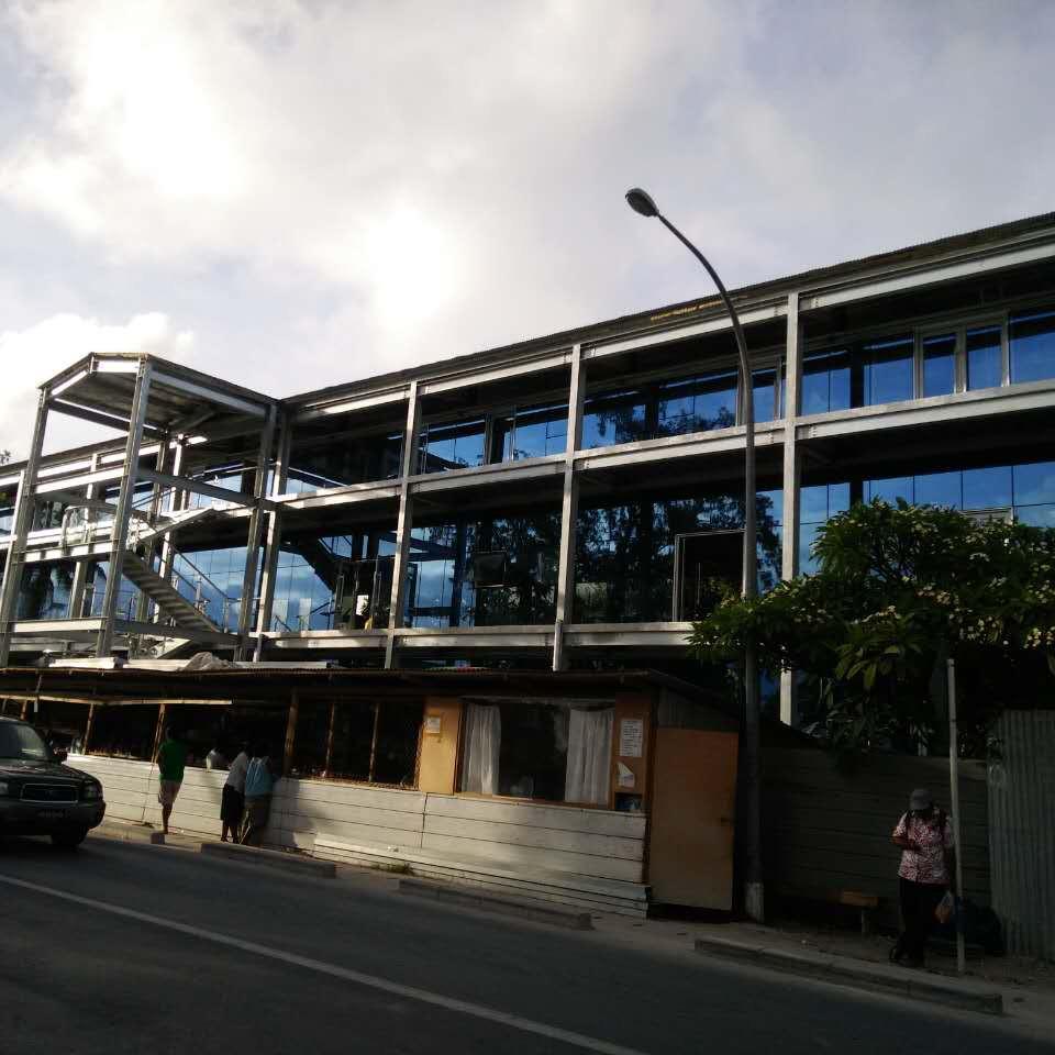 Prefab Structure Steel Supermarkets