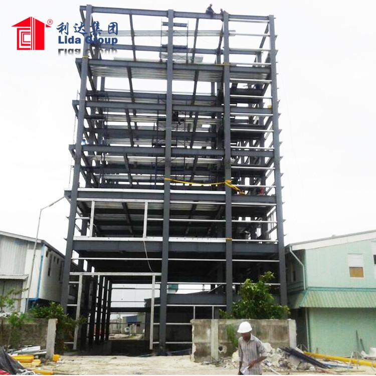 prefabricated steel structure hanger