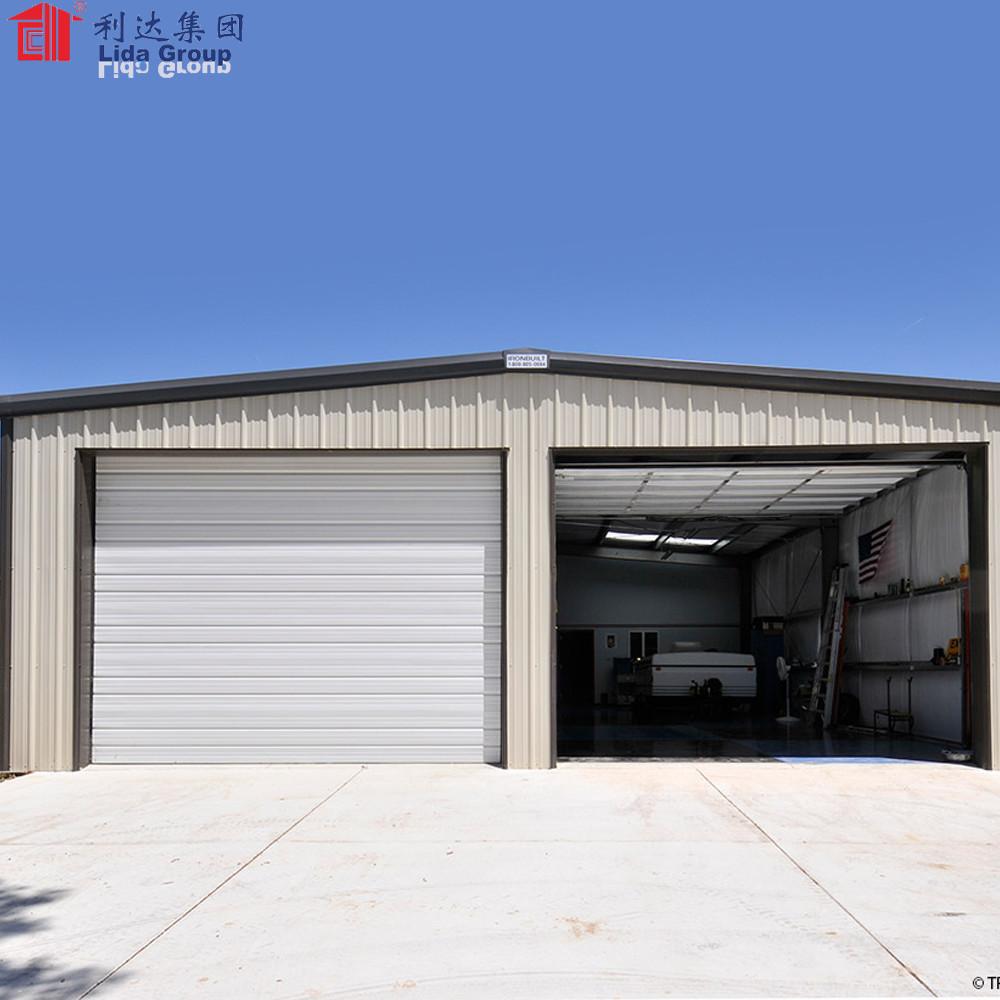 Steel structure car garage for sale