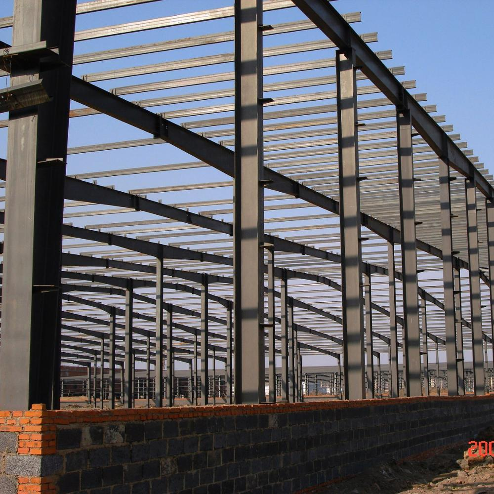 Prefab Structure Steel Medical Warehouses