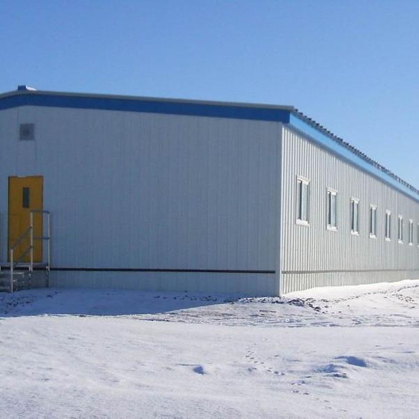 Kazakhstan Prefabricated Steel Structure Metal Storage