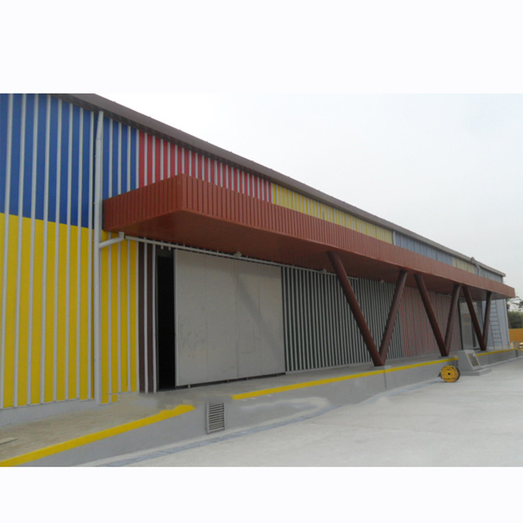 Metal Building Construction Projects Industrial Good quality prefabricated metal roof steel structure warehouse
