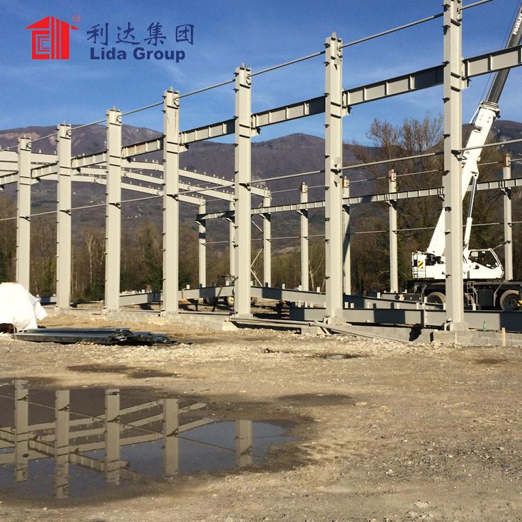 portal frame steel structure construction