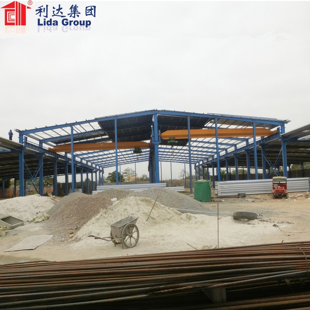 Low Cost prefabricated warehouse china