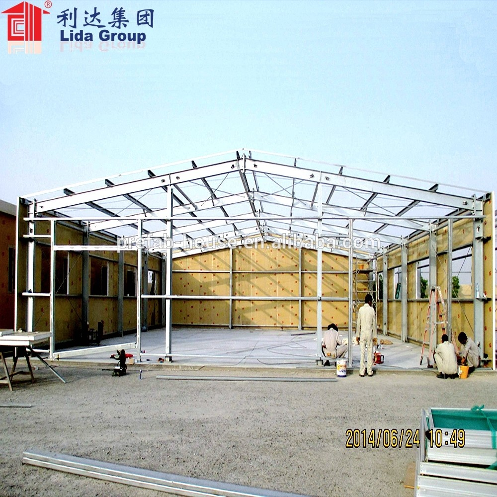 Prefabricated Low Cost Industrial Shed Designs,Steel Structure Warehouse,Garbage Recycling Plant