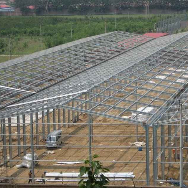 2019 Competitive price lightweight steel structure building steel frame warehouse steel structure for house