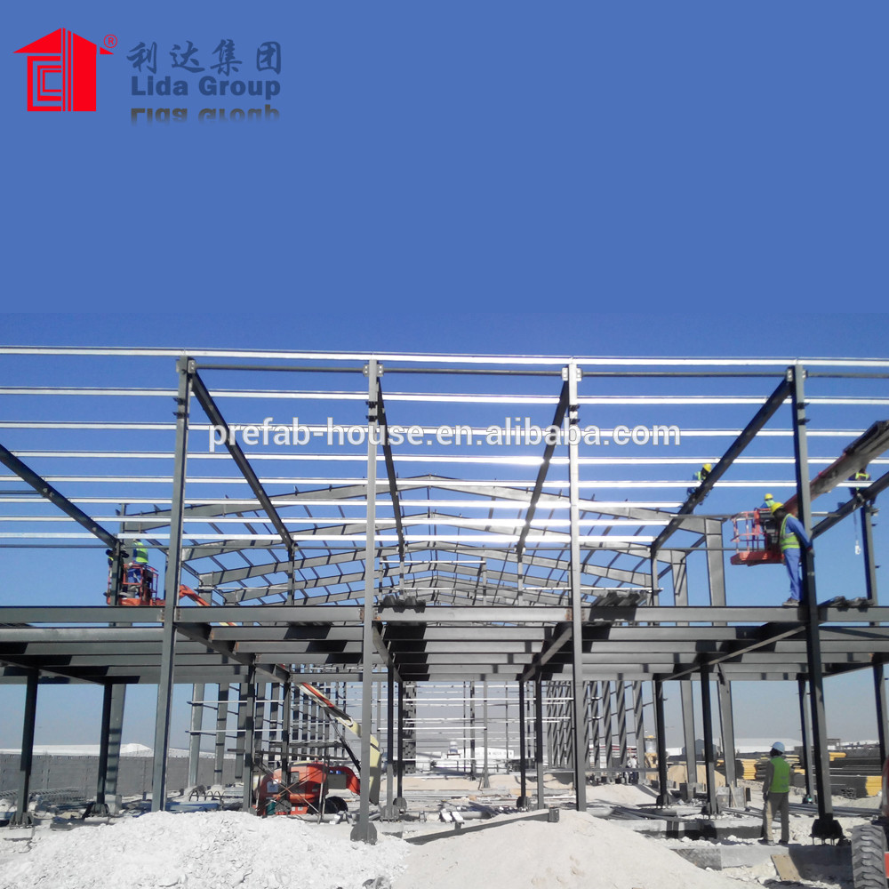 China construction building steel structure warehouse kit