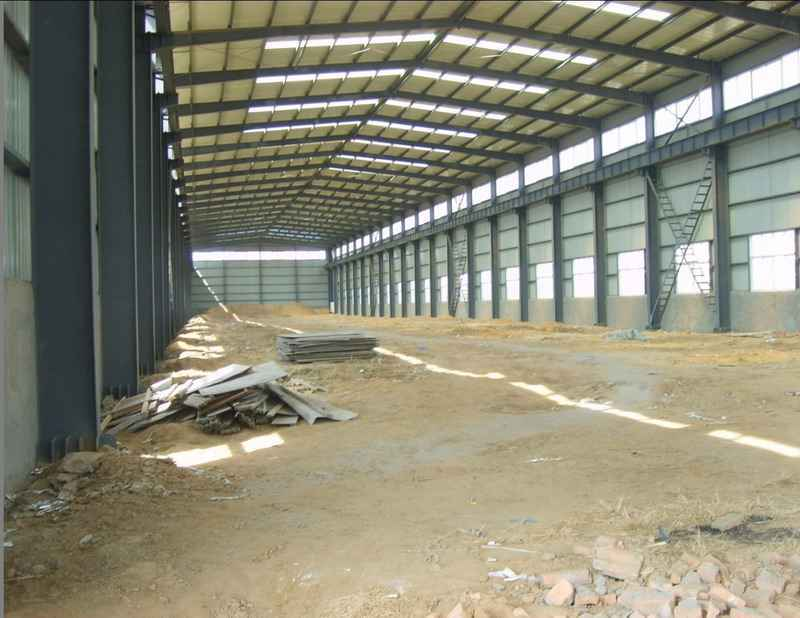 Prefab Structure Steel Wood Factory
