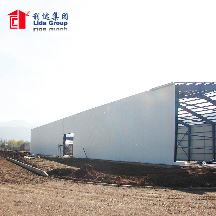Prefab Metal Building Prefabricated Steel Structure Aircraft Hangar