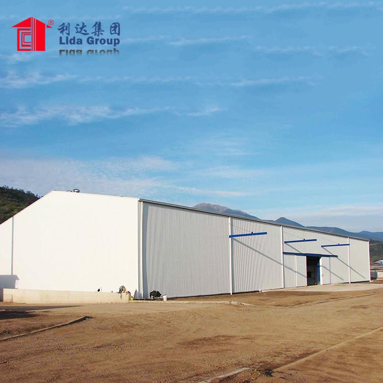 free design steel structure warehouse