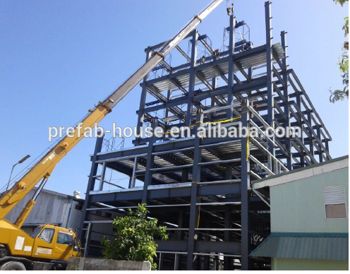 2020 gable frame light metal building prefabricated industrial steel structure warehouse