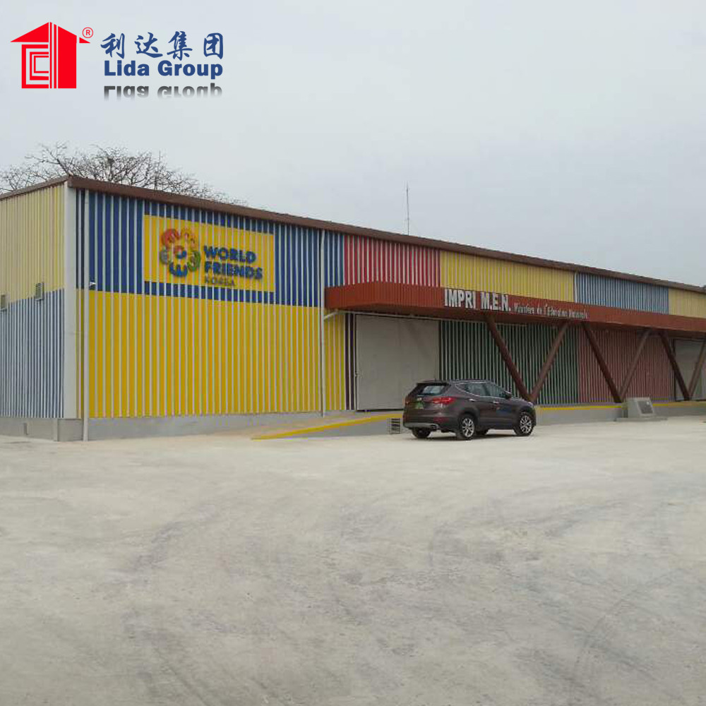 Best price prefabricated warehouse manufacturer china with CE certificated