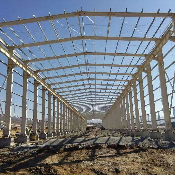 high quality steel structure warehouse construction material
