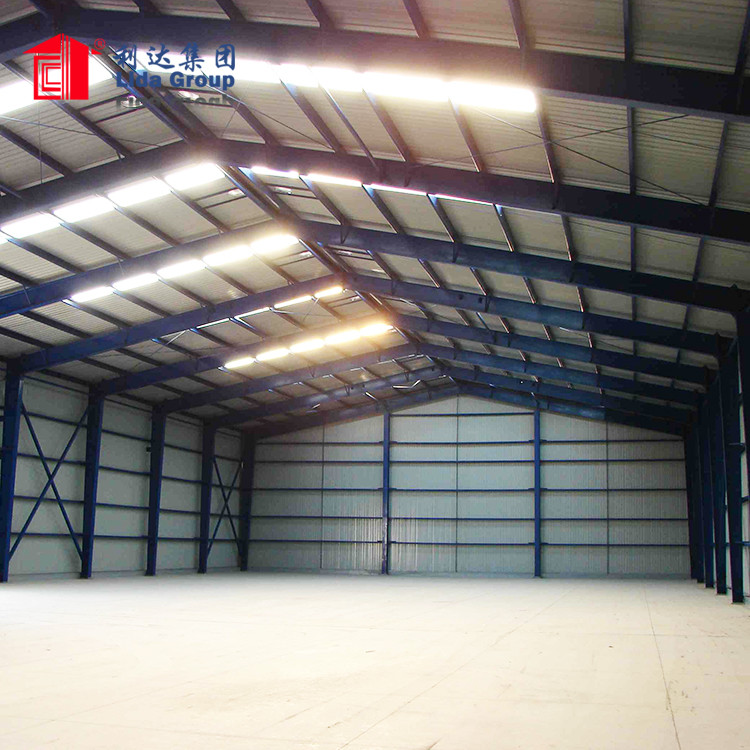 Low cost industrial park multi story steel structure building
