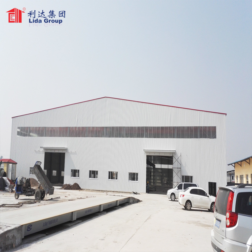 Low Cost Pre-Made Agricultural Steel Structure Warehouse