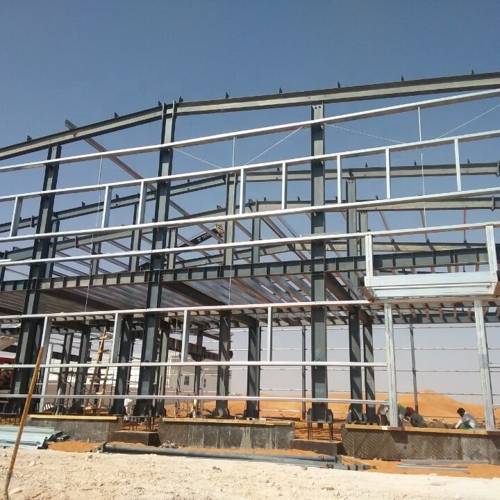 Prefabricated Steel Structure Mini Self Storage Shed Warehouse K Span Building