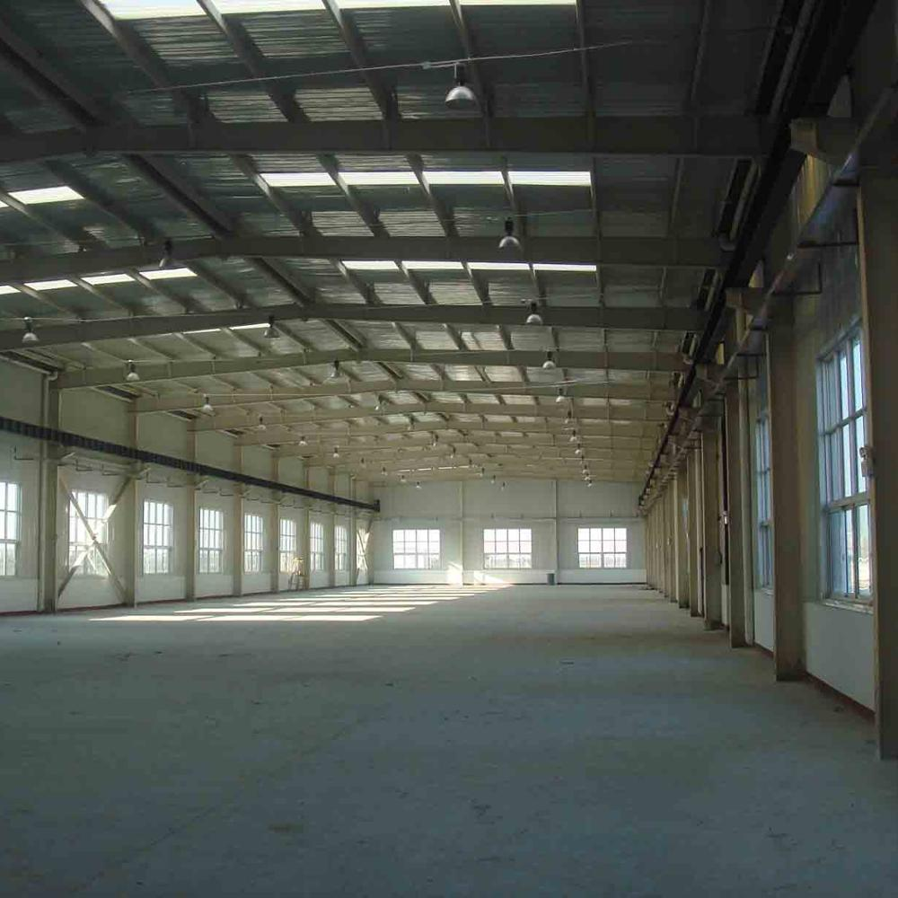 Rwanda Prefab Structure Steel Processing Workshop