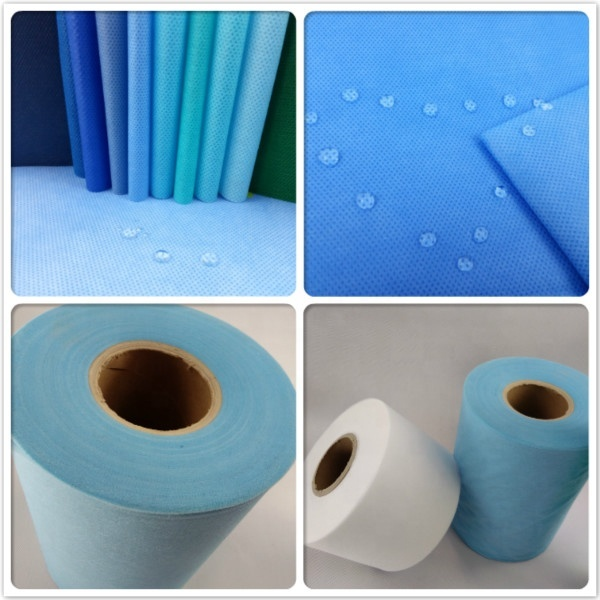 100%pp Meltblown non woven 100% pp nonwoven fabric for medical suits