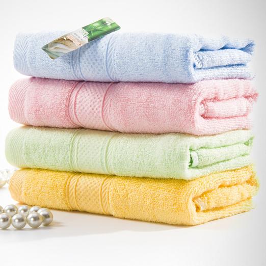 Customized 100% Organic Bamboo Fiber face towel bath towel