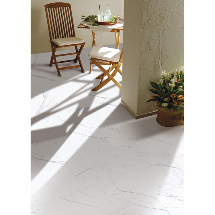 Slip resistant white outdoor tile