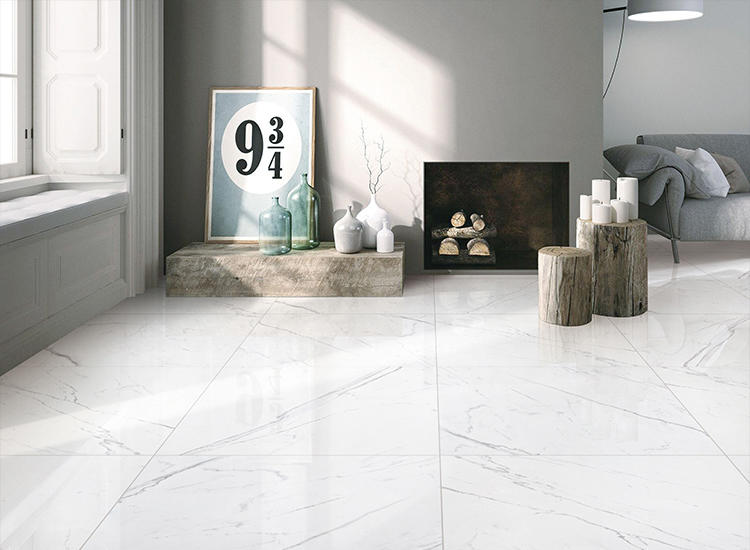 White Floor Tiles and Wash basin wall tiles ofVitrified tile price in India