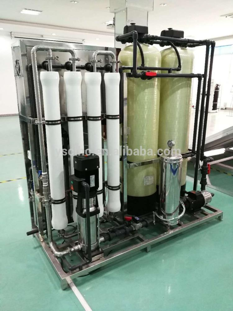 0.25 to 50 m3/H commercial RO reverse osmosis treatment Plant Solar water purification